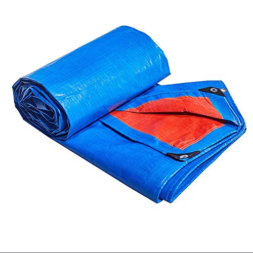 Regendicht zonwering met multifunctionele functie (blauw)   Waterdicht, robuust, dik, geschikt voor decoratieve doeleinden   stofdicht   transport   gebouwde   steenberg   vloerbedekking   regendicht  