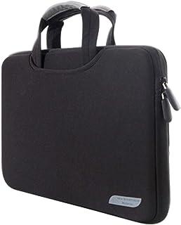 Laptop Bag 15.6 inch Portable Air Permeable Handheld Sleeve Bag for Laptops, Size: 41.5x30.0x3.5cm(Black) (Color : Black)