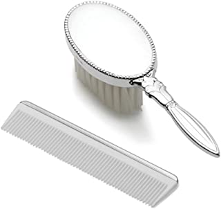 925 Sterling Silver Gift Boxed Girls Comb Brush Set Baby Fine Jewelry Gifts For Women For Her