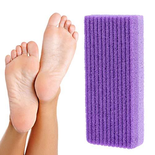 Frcolor Foot Callus Remover Pedicure Foor File Scrubber pour l'exfoliation Enlever la peau morte