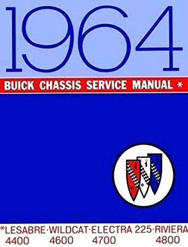 1964 Buick Repair Shop Manual Original - Riviera, LeSabre, Wildcat, Electra