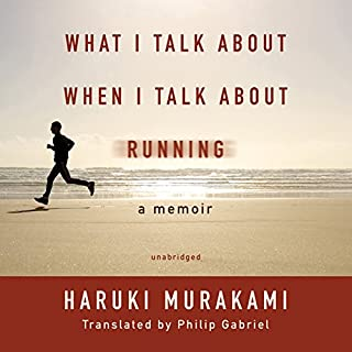 What I Talk about When I Talk about Running audiobook cover art