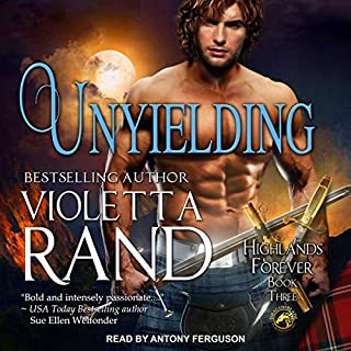 Unyielding     Highlands Forever Series, Book 3              Written by:                                                                                                                                 Violetta Rand                               Narrated by:                                                                                                                                 Antony Ferguson                      Length: 4 hrs and 51 mins     Not rated yet     Overall 0.0