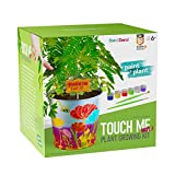 Paint & Plant Touch-Me-Not Growing Kit - Kids Gardening Seeds - Tickle Sensitive Zombie-Like Plant - Science Gifts for Girls and Boys Ages 4 5 6 7 8 9 10 - STEM Arts & Crafts Project House Activity