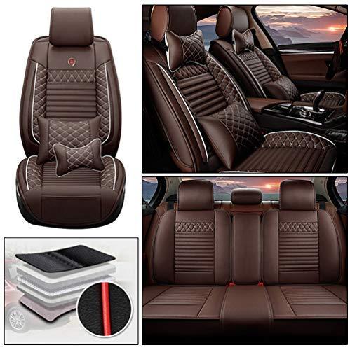 Handao-US Juego completo de fundas de asiento de coche para Subaru WRX sti de 5 asientos, protecció