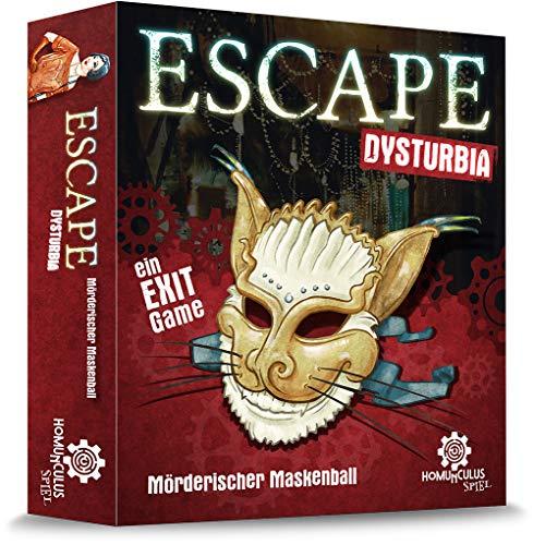 ESCAPE Dysturbia: Mörderischer Maskenball: Ein Exit Game