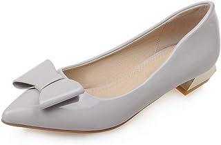 BalaMasa Womens APL11829 Pu Block Heels