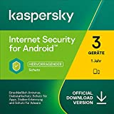 Kaspersky Internet Security for Android 2021 Standard | 3 Gerät | 1 Jahr | Mobile Device |...