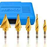 NEIKO 10173A Quick Change SAE Spiral Grooved Step...