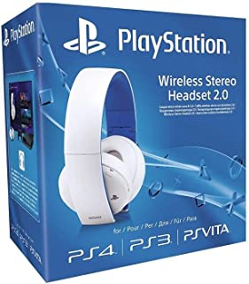 Sony PlayStation Wireless Stereo Headset 2.0 - White - For PS4/PS3/PSVita