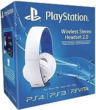 Wireless Stereo Headset Sony 7.1 Branco 2.0 - Ps3 / Ps4 / psvita