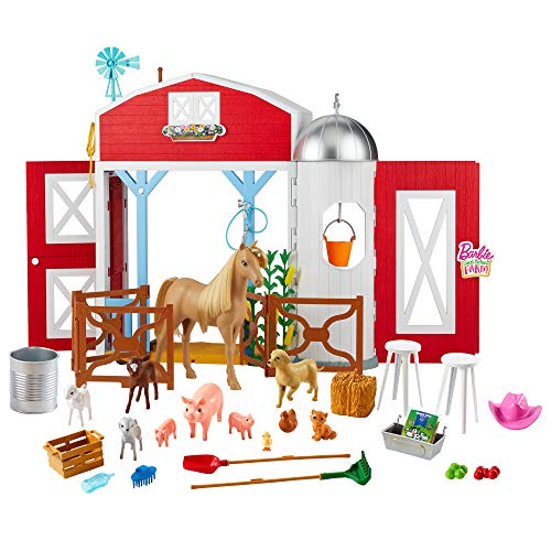 Barbie GJB66 Sweet Orchard Farm Playset