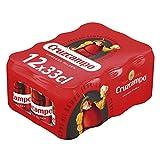 Cruzcampo Cerveza - Pack de 12 Latas x 330 ml (Total: 3.96 L)