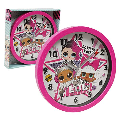 """Accutime Watch Corp LOL Frame Wall Clock Nice for Gift or Office Home Wall Decor 9.5"""""""