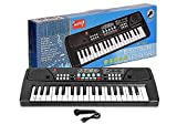 DEVTA™ Kids Piano Keyboard | Piano for Kids with Microphone |Portable Electronic Keyboards for Beginners 37 Keys Musical Toys Pianos for Girls Boys Ages 3-12