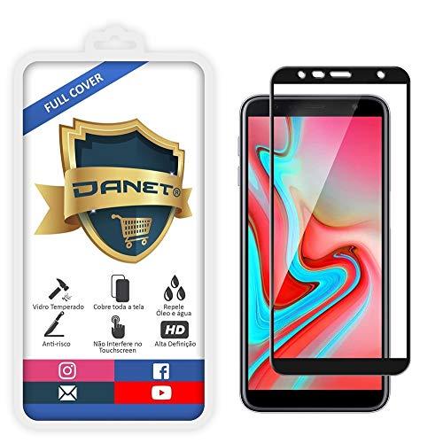 Película De Vidro Temperado 3D Full Cover Para Samsung Galaxy J6 Plus com Tela de 6 Polegadas - Proteção Blindada Top Premium Que Cobre Toda A Tela - Danet