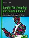 Dossier Content für Marketing und Kommunikation