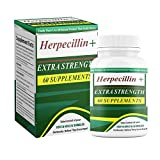Herpecillin Plus Take Action Against HSV1 Cold Sores, Fever Blisters, HSV2 Genital Herpes Outbreaks, Shingles Herpes Zoster Outbreaks. 60 Supplements.
