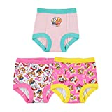 Nickelodeon Toddler Paw Patrol Girl 3pk Training Pant, Assorted, 3T