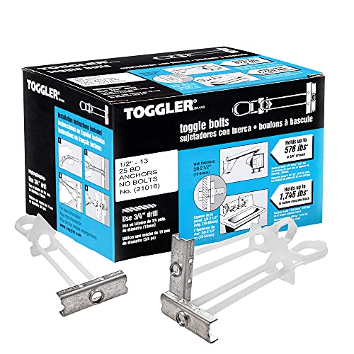 TOGGLER SNAPTOGGLE BCS Toggle Anchor, 304 Stainless Steel Channel, Made in US, 3/8