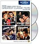 TCM Greatest Classic Films Collection: Hitchcock Thrillers (Suspicion / Strangers on a Train / The Wrong Man / I Confess)