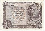 Matidia ESPAÑA Billete Original DE 1 Peseta 1948 Dama DE Elche