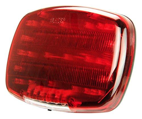 Blazer International C6355 LED Magnetic Emergency Light, Red