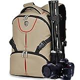 Borsa per Fotocamera DSLR o Videocamera e Accessori Borsa a Tracolla da Viaggio per Professionale Fotocamera Reflex, Nero