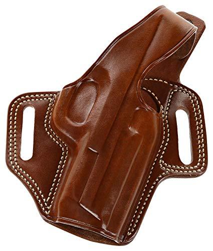 Galco Fletch High Ride Belt Holster for Kimber Colt 1911 5' Tan RH FL212