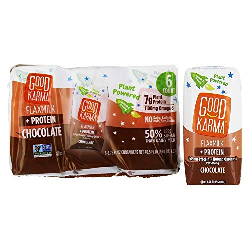 Good Karma Chocolate Flaxmilk - 6pk/6.75 fl oz Carton