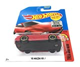 Hot Wheels 2017 Then and Now Mazda RX-7, Red