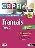 Français - Tome 2 - Ecrit 2020 - Préparation complète - CRPE (2)