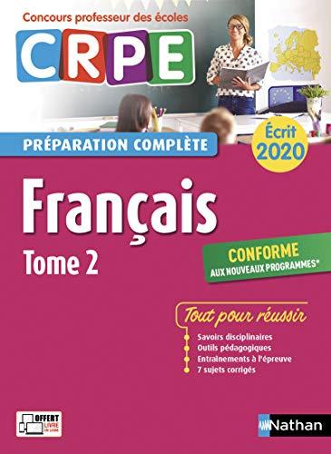 Mirror PDF: Français - Tome 2 - Ecrit 2020/2021 - Préparation complète - CRPE - 2020 (2)