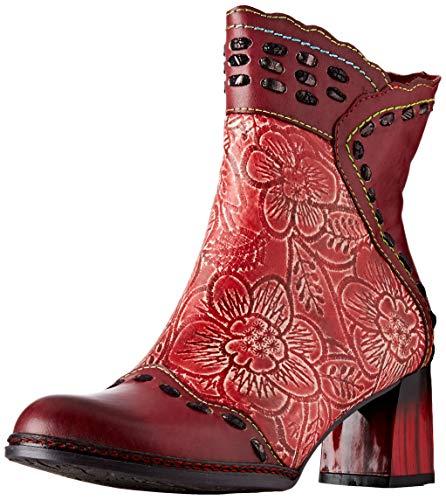 Laura Vita Damen GACLAO 02 Stiefeletten, Rot (Rouge Rouge), 37 EU