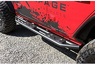 RAMPAGE PRODUCTS 88735 TrailCrawler Rock Slider Step for 2018 Jeep Wrangler JL Unlimited 4-Door