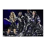 Leinwand-Poster The Black Eyed Peas 16, für Schlafzimmer,