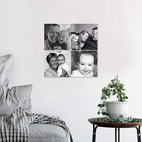 Instacollage fotopanelen bedrukken - 15x15 - Glans (4 tegels)