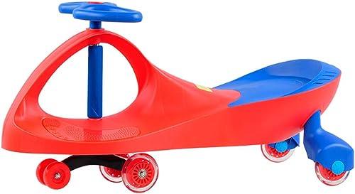 Kindautotorsionauto-Schwingenauto-Blitz stummer Rollschuhlaufen (Farbe   B)