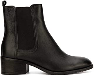 Kenneth Cole REACTION Women's Salt Chelsea Pull on Flat Bootie Ankle Boot