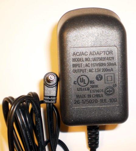 AC / AC Adaptor U075020A12V 7.5 V 200mA