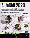 AutoCAD 2020 - Conception, dessin 2D et 3D, présentation. Tous les outils et fonctionnalités avancées autour de projets professionnels