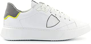 Luxury Fashion | Philippe Model Men BTLUVF01 White Leather Sneakers | Spring-summer 20