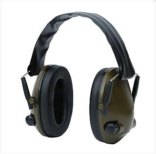 ミリタリータクティカルイヤーマフノイズリダクションハンティングシューティングヘッドフォンアンチノイズイヤーディフェンダーヒアリングプロテクター