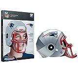 FanHeads Wearable NFL Football Helmets (All Team Options) – Reinforced Laminated Cardboard...