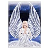 Lushandy DIY 5D Diamond Painting, Full Drill Diamond Painting Angel Embroidery Cross Stitch Arts Craft Canvas Supply for Home Wall Decor Adults and Kids 16 x 12 inch