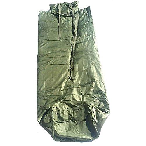 Original französischer Armee Schlafsack mit wasserfesten Boden Camping Outdoor