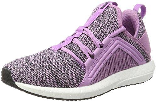 Puma Puma Damen Mega Nrgy Knit Outdoor Fitnessschuhe, Violett (Smoky Grape-Black), 41 EU