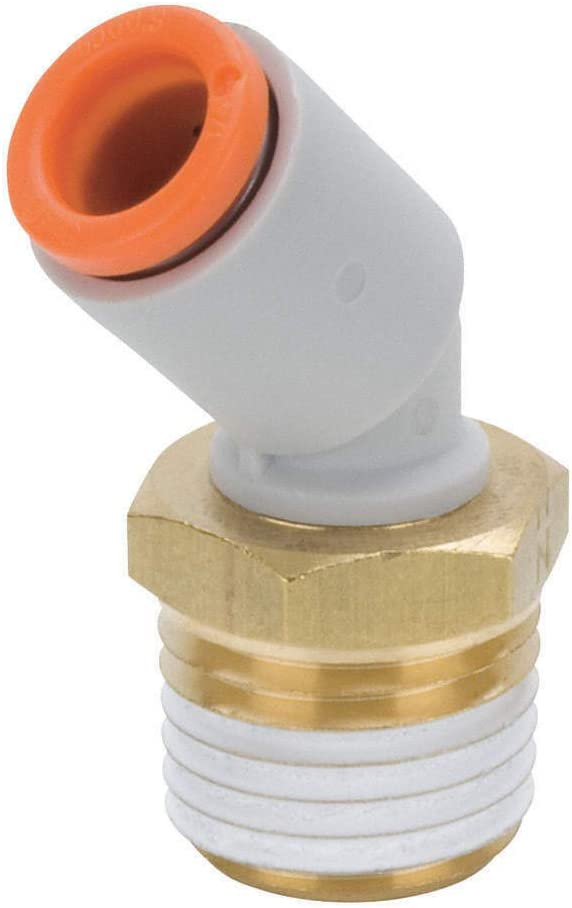 KQ2K07-36AS Challenge the lowest price Male Elbow 45 Deg in. TubexMNPT 1 Sales 4