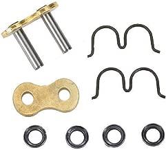 EK Chain Rivet Connecting Link for 520 GP 3D Premium Chain - Black/Gold 3D 520GP CL RVT MLJ BLKGLD