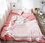 XNSY Sommerdecke Sommerdecke-200 x 230 cm_Pink